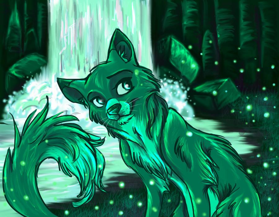 Earth Elemental Wolf Element Earth Earth Elemental Boy