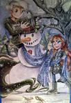 Commission: Snowman