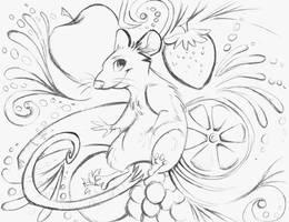 Symphony of Flavor Sketch by sharkie19