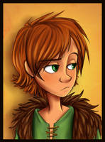 Hiccup is not Amused by sharkie19