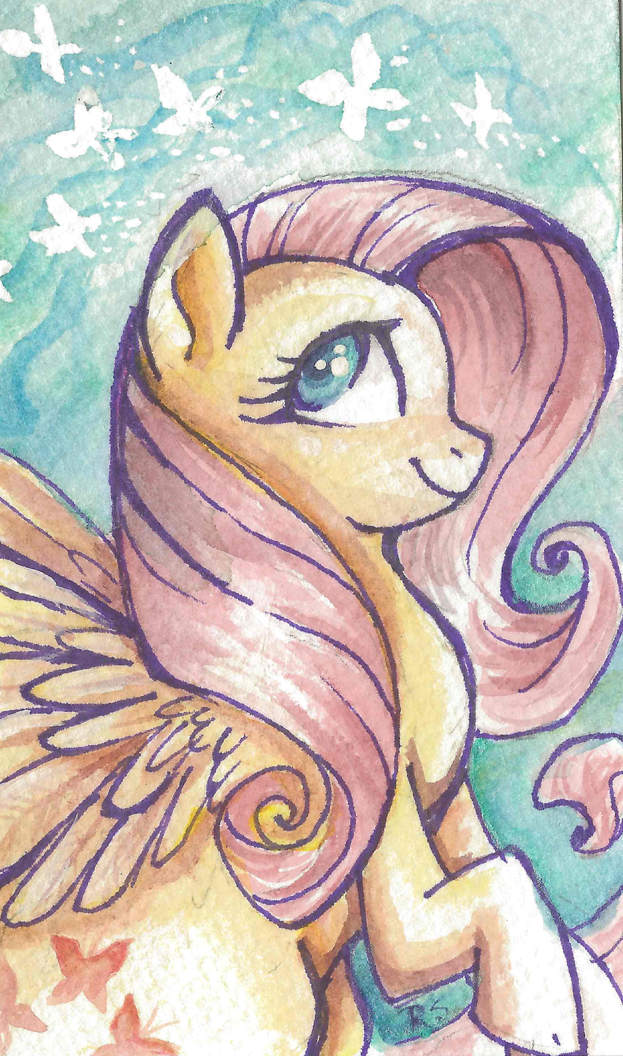 Fluttershy by sharkie19