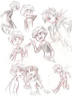 DP Sketches by sharkie19