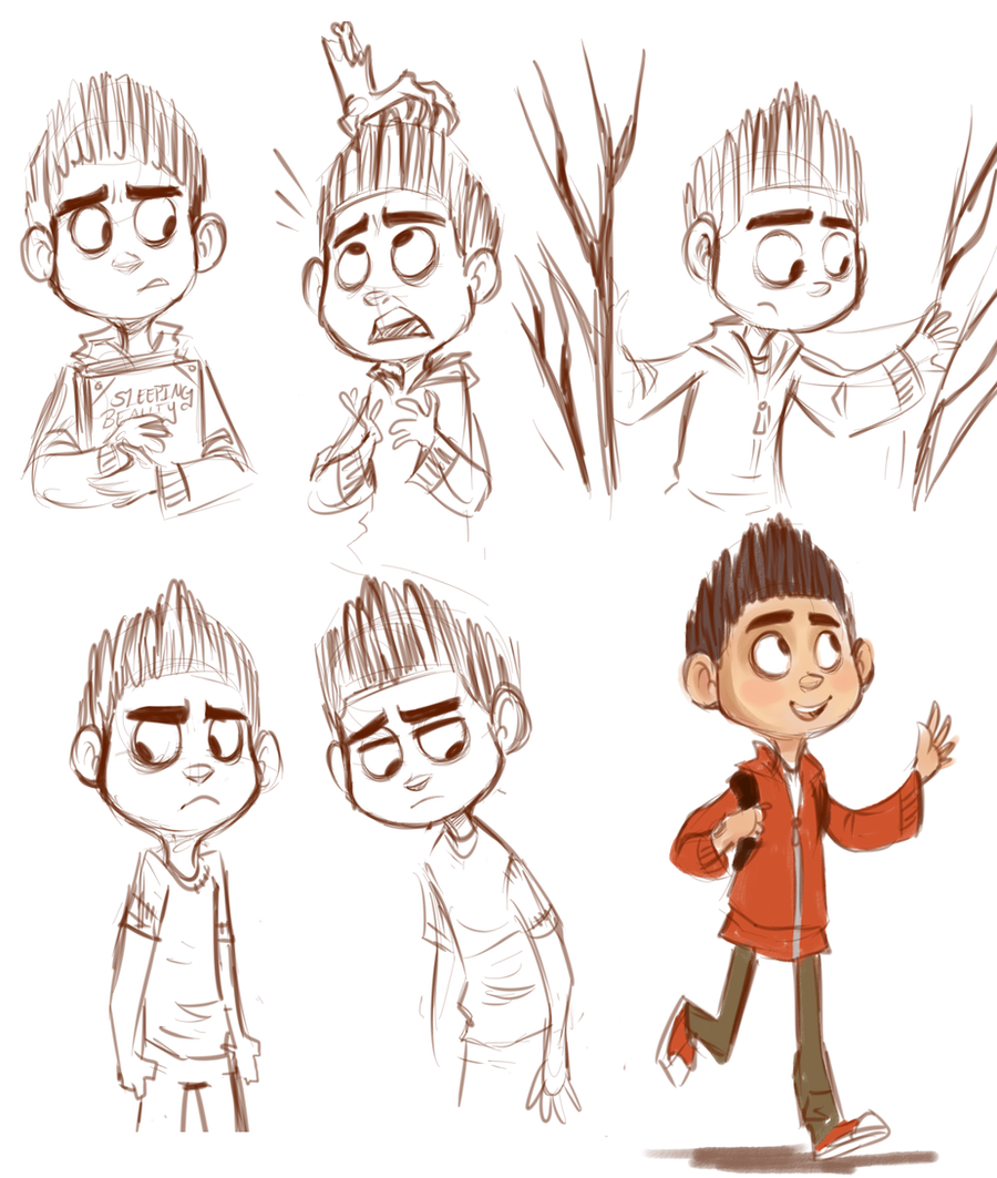 ParaNorman Sketches by sharkie19