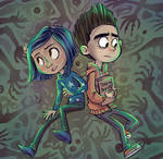 Norman and Coraline