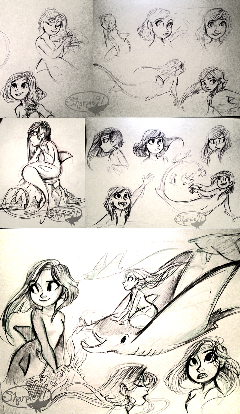 Vera Sketches by sharkie19