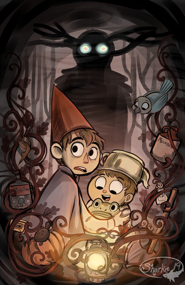 (Spoilers) Over the Garden Wall by sharkie19