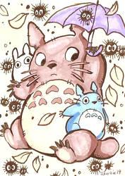 Totoro by sharkie19