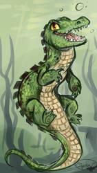 Crocigator by sharkie19