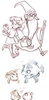 Sword in the Stone Sketches