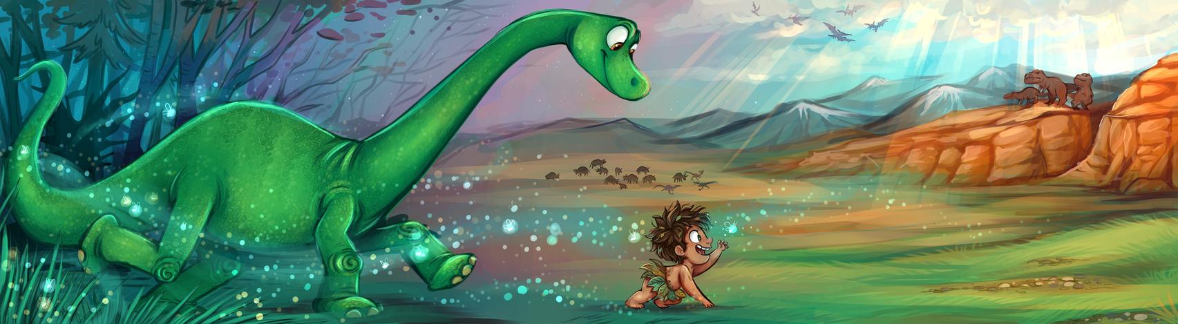 The Good Dinosaur by sharkie19