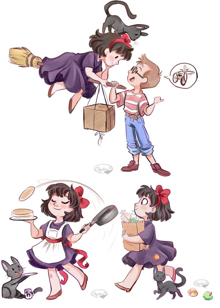 Kiki's Delivery Service by sharkie19