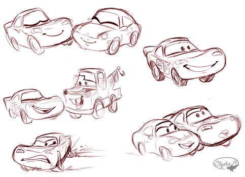 Cars Sketches