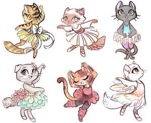 Ballerina Cats