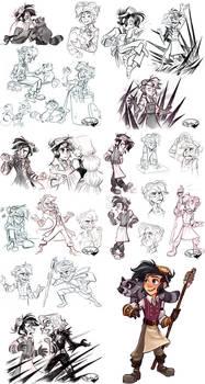 Varian Sketchdump (Spoilers)
