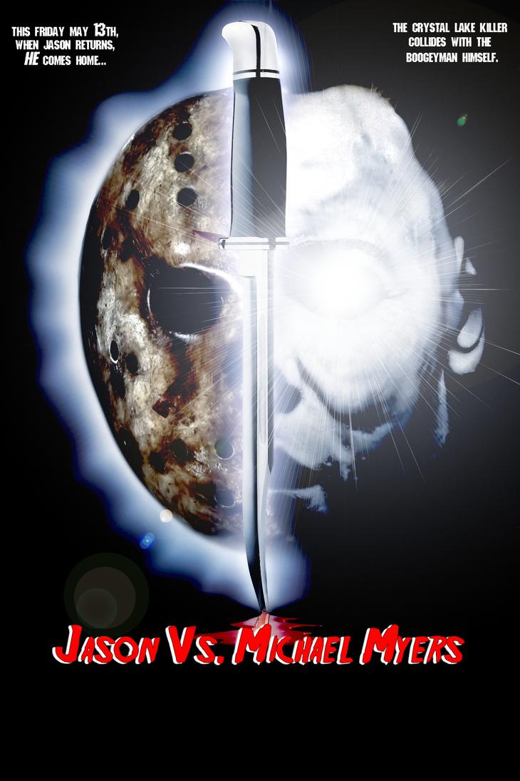 Jason Vs. Michael Myers by MrAngryDog