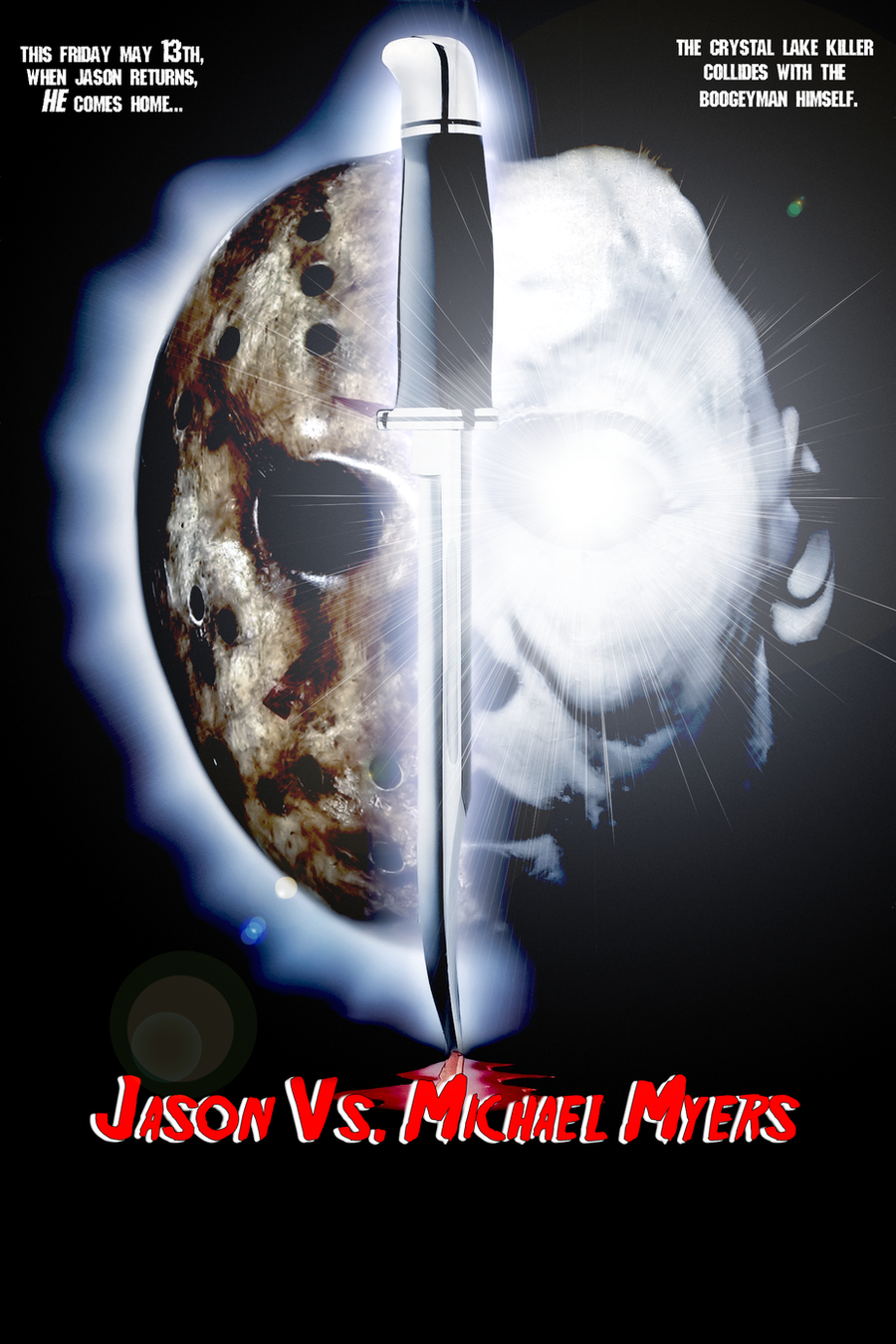 Jason Vs. Michael Myers by MrAngryDog