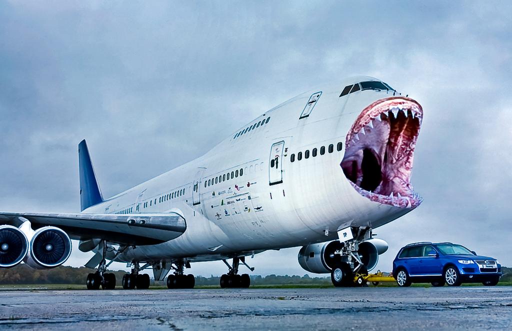 Airbone Shark Attack Mrangrydog