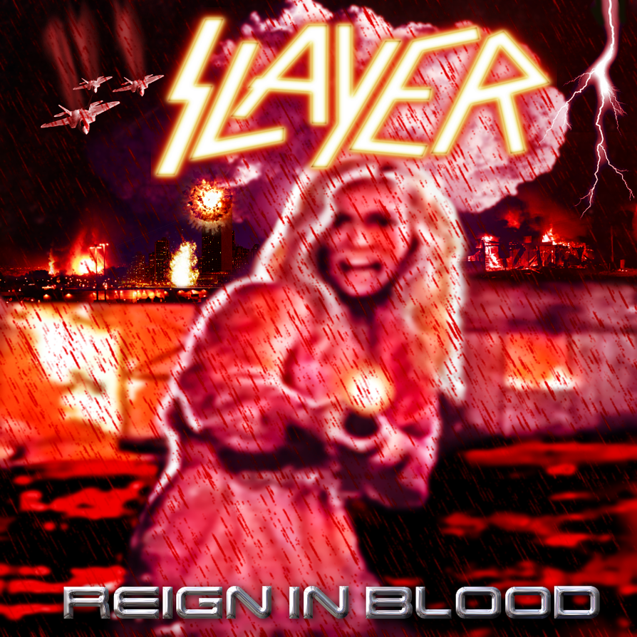 Slayer: Reign in Blood v.2 by FearOfTheBlackWolf on DeviantArt