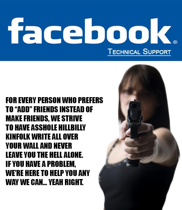 Facebook Technical Support By MrAngryDog On DeviantArt