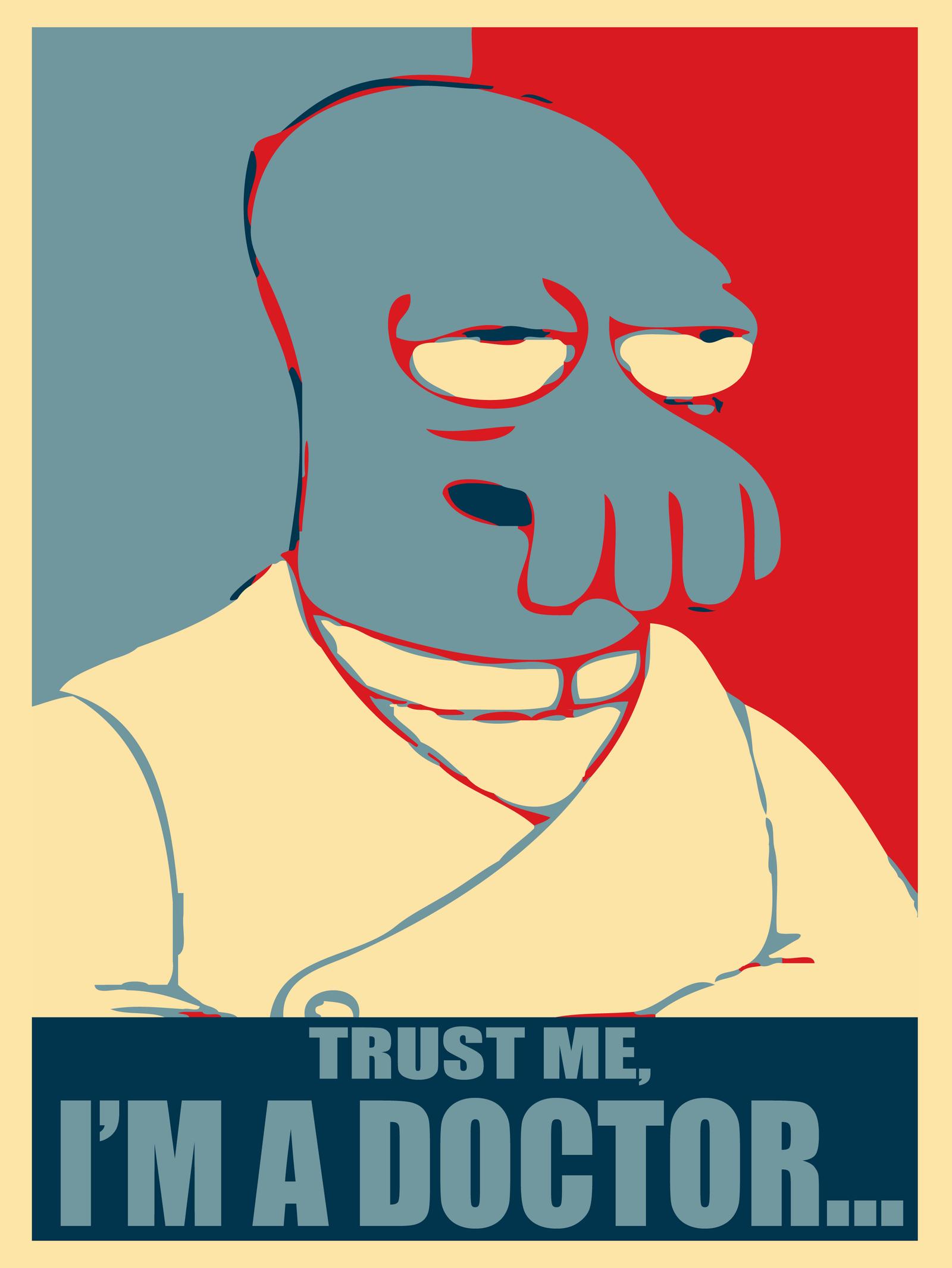 Dr. Zoidberg: Trust Me... by MrAngryDog