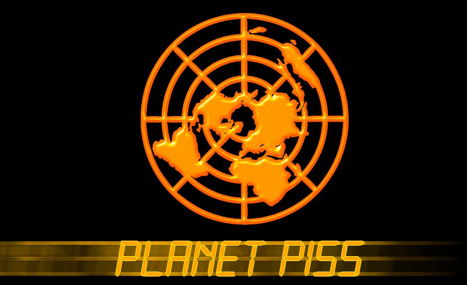 Planet piss logo 6