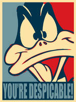 Daffy Duck: You're Despicable by FearOfTheBlackWolf