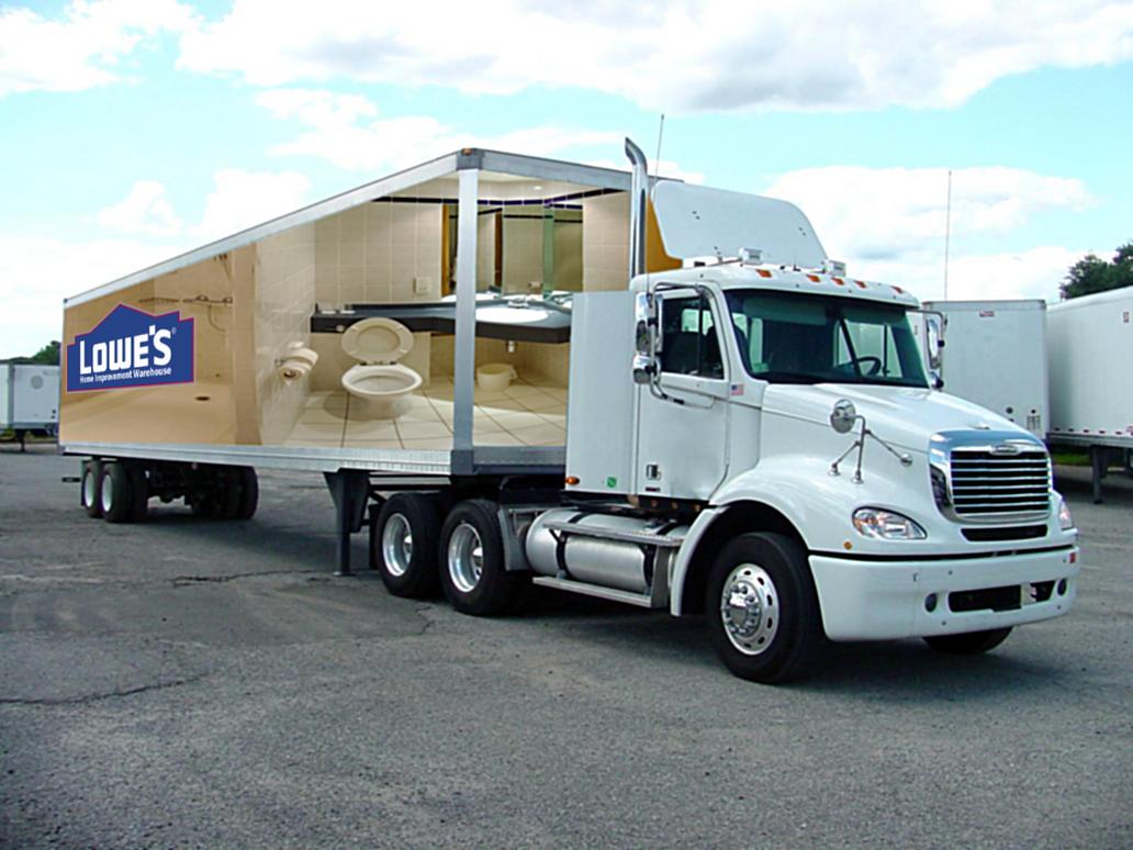 Lowes Bathroom Truck Design by FearOfTheBlackWolf on ...