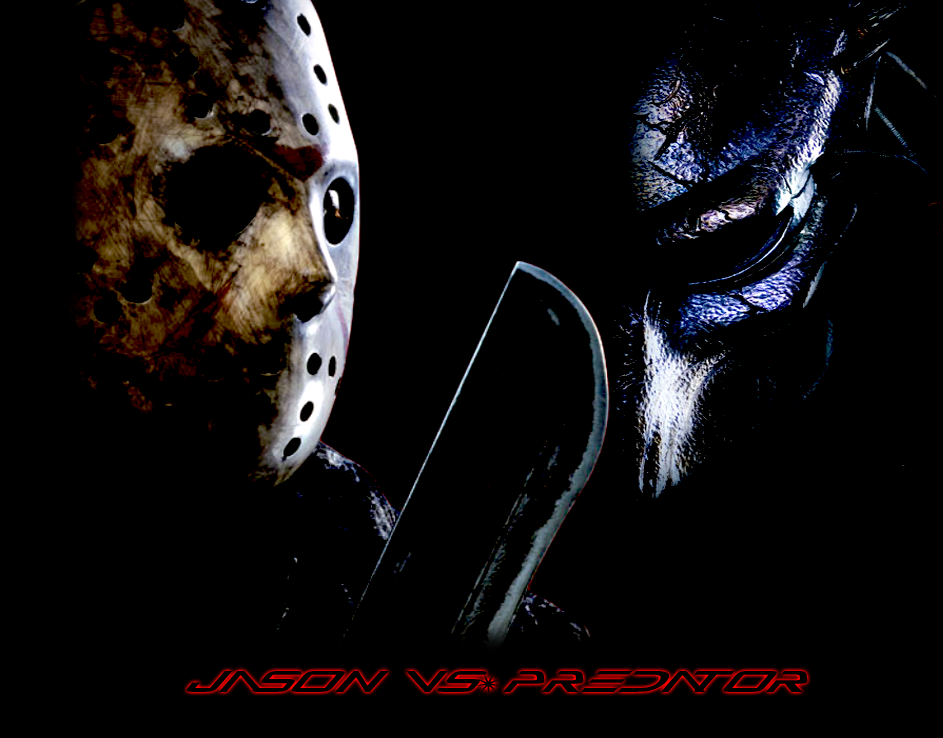 Jason Vs. The Predator by MrAngryDog
