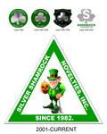 Silver Shamrock Logo History