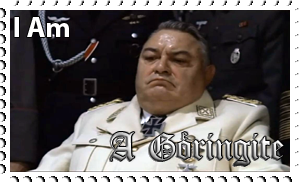Downfall Stamps: Hermann Goring by MrAngryDog