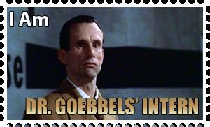Downfall Stamps: Joseph Goebbels by MrAngryDog