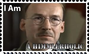 Downfall Stamps: Heinrich Himmler by MrAngryDog