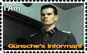 Downfall Stamps: Otto Gunsche