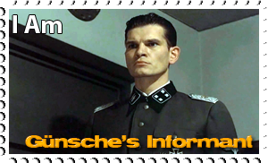 Downfall Stamps: Otto Gunsche by MrAngryDog