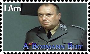 Downfall Stamps: Martin Bormann by MrAngryDog