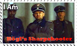 Downfall Stamps: Peter Hogl by MrAngryDog