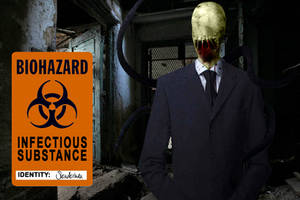 Infected Slenderman by FearOfTheBlackWolf