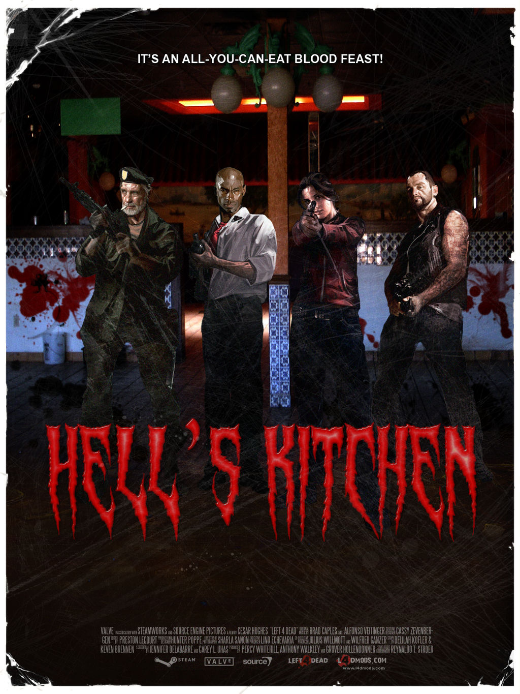 Left 4 Dead Campaign Poster: Hell's Kitchen by