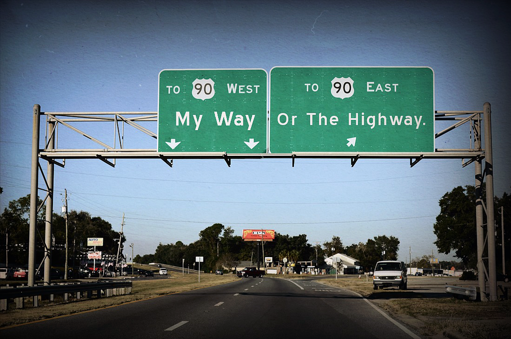 Idioms: It's My Way Or The Highway by FearOfTheBlackWolf ...