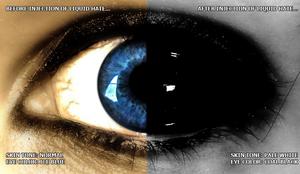 Jane The Killer's Eye (Close Up/Composite)