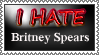 I Hate Britney Spears Stamp by FearOfTheBlackWolf