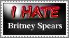 I Hate Britney Spears Stamp by MrAngryDog