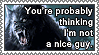 Not A Nice Guy Stamp by FearOfTheBlackWolf