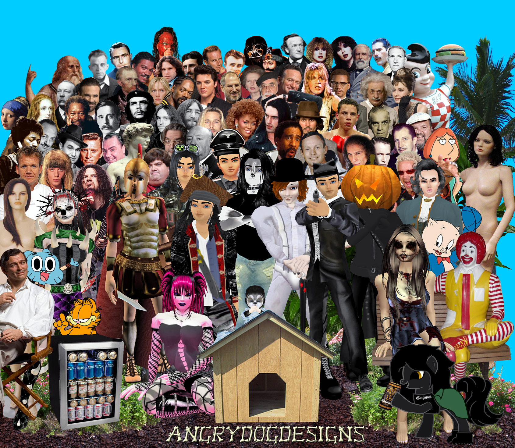 AngryDogDesigns Poster (Sgt. Pepper Spoof) by MrAngryDog