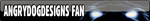 AngryDogDesigns Fan Button by FearOfTheBlackWolf