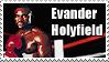 Evander Holyfield Stamp by MrAngryDog