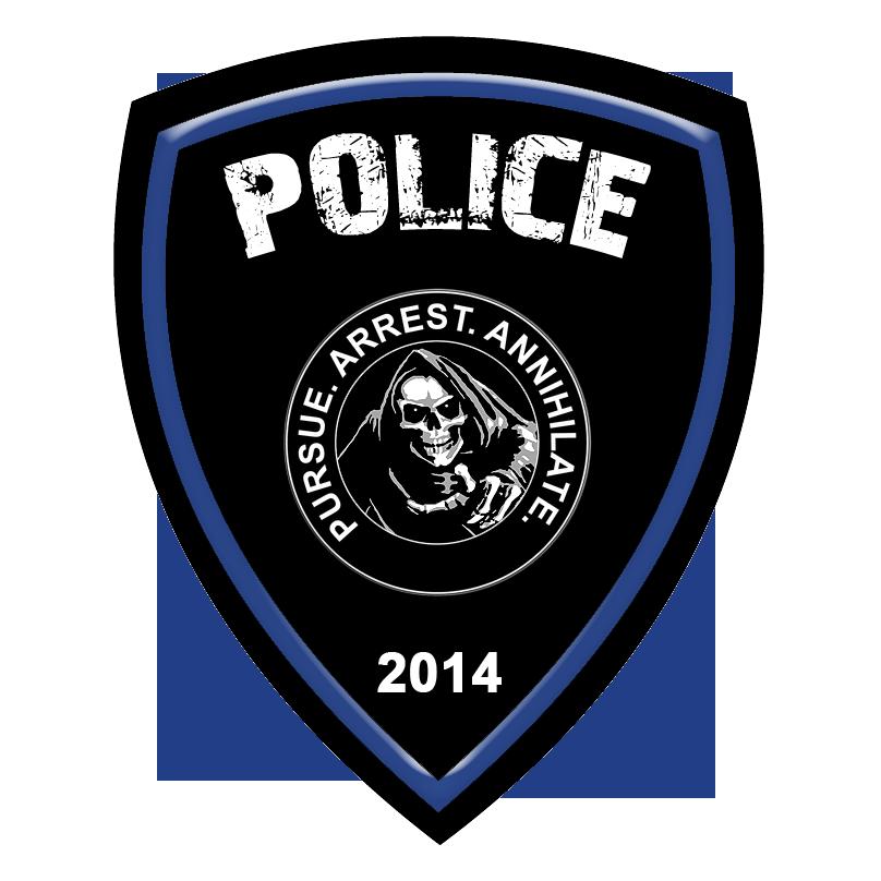 Officer Axelrod's Custom Police Car Emblem by ...