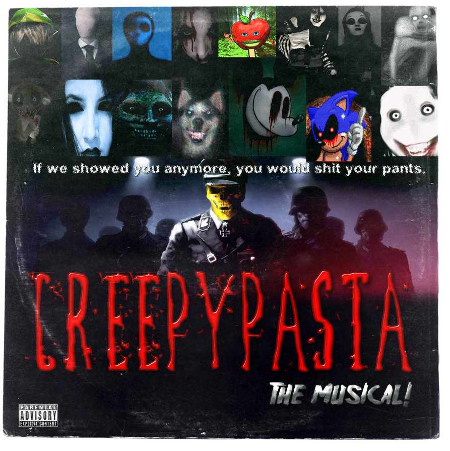 Creepypasta: The Musical! (Hot Topic Promo LP) by MrAngryDog