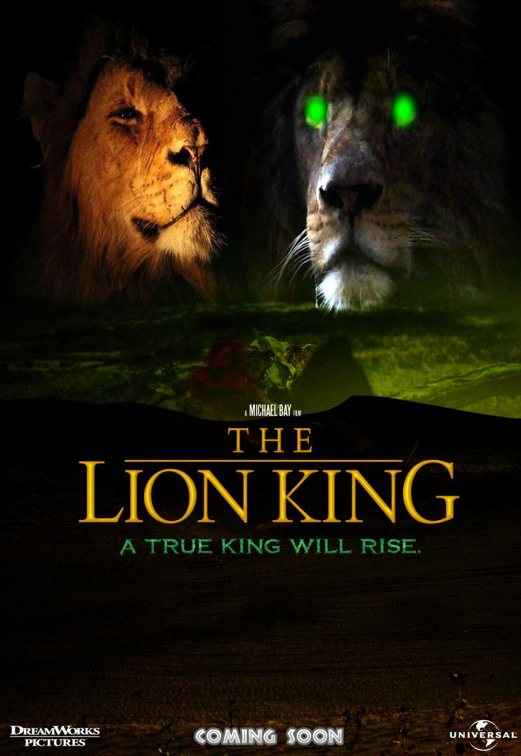 The Lion King: Michael Bay Version by MrAngryDog