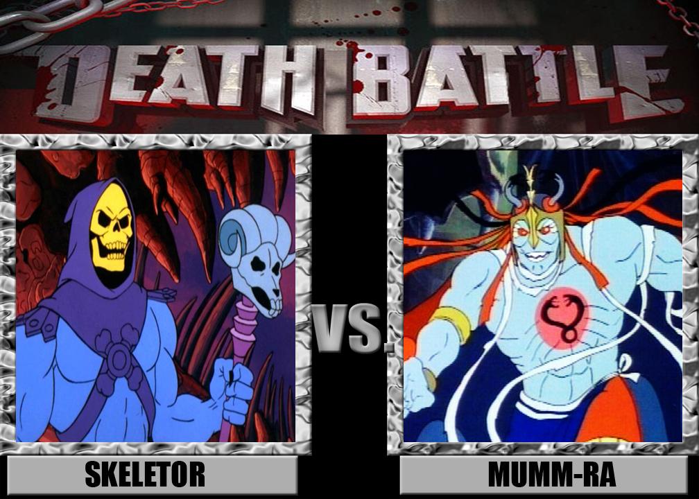 Death Battle: Skeletor Vs Mumm-Ra by MrAngryDog on DeviantArt